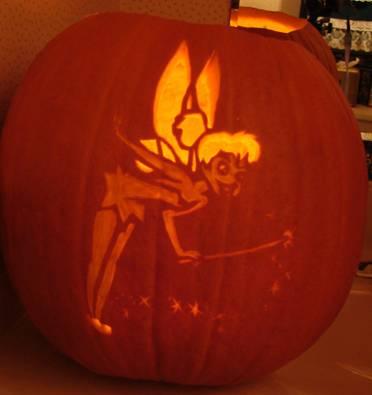 Tinkerbell pumpkin template playbestonlinegames for Tinkerbell pumpkin template free
