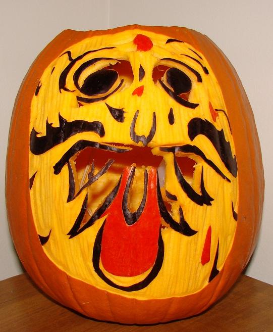 Lucifer Hindi: Pumpkin Carving Gallery