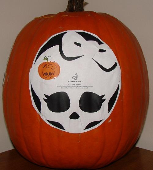 Monster high skull pumpkin carving gallery